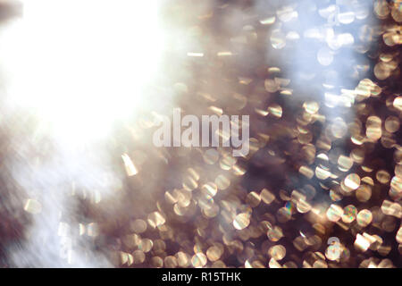Holographic background with multiple colors. Out of focus texture. Holographic wrinkled abstract foil texture with multiple colors. Colorful of bokeh  - Stock Photo