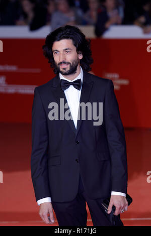 Rome, Italy. 19th October, 2018. A guest walks the red carpet ahead of the 'The House With A Clock In Its Walls' screening during the 13th Rome Film F - Stock Photo