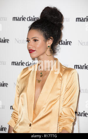 Guests attend women's fashion monthly's awards show honouring ten female trailblazers and role models in partnership with Neutrogena  Featuring: Vick Hope Where: London, United Kingdom When: 09 Oct 2018 Credit: Phil Lewis/WENN.com - Stock Photo