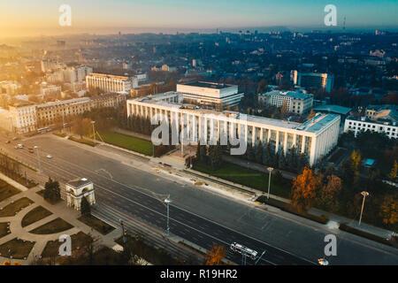 Moldova Republic Goverment House in the city center