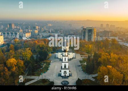 Chisinau, Republic of Moldova city centre