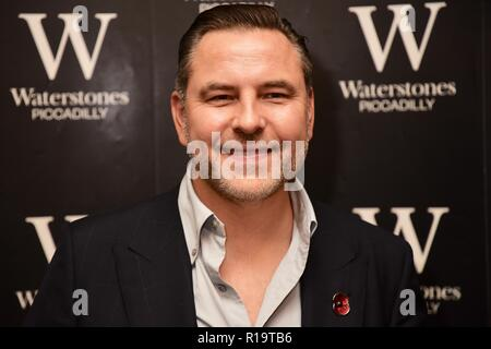 London, UK. 10th Nov, 2018. David Walliams, Presscall and Booksigning for his newest novel 'The Ice Monster',Waterstones Piccadilly,203-206 Piccadilly,London.UK Credit: michael melia/Alamy Live News - Stock Photo