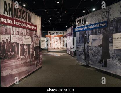 Smithsonian Anacostia Community Museum Washington DC - Stock Photo