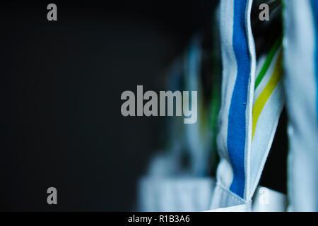 Closeup curtains - Stock Photo