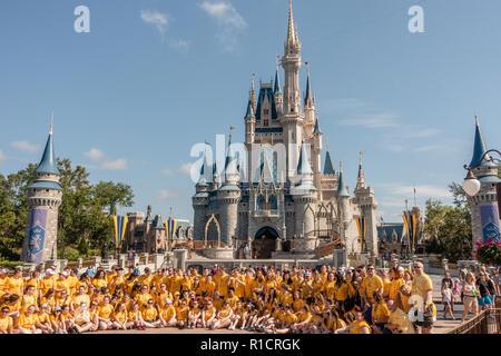 APRIL 25, 2018 - ORLANDO, FLORIDA: MAGIC KINGDOM, DISNEY WORLD. - Stock Photo