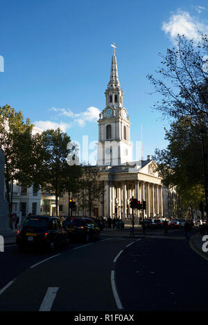 A London church: St Martin in the Fields. - Stock Photo