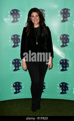 London, UK. 12th November, 2018. Monica Lewinsky attend The Diana Award anti-bullying week at Alexandra Palace on 12 November 2018, London, UK. Credit: Picture Capital/Alamy Live News - Stock Photo