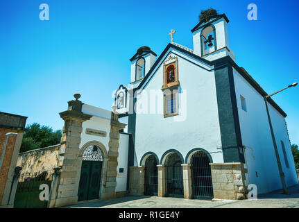 Church of St. Anthony of the Capuchin Convent, Faro City, Algarve Region, Portugal - Stock Photo