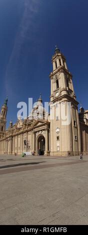 Panoramic of Santo Domingo de la Calzada, Camino de Santiago, Spain - Stock Photo