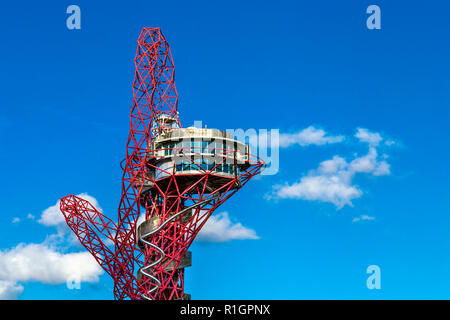 Arcelor Mittal Orbit by Anish Kapoor in the Olympic Village, London, England
