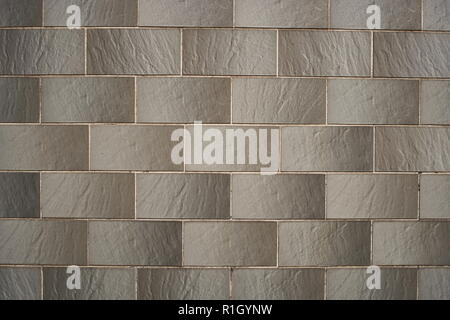 brick wall texture in munich - Stock Photo