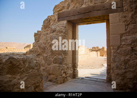 Masada Western Palace - Stock Photo
