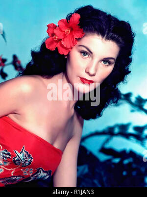 Debra Paget (born Debralee Griffin; August 19, 1933) is an American actress and entertainer. She is perhaps best known for her performances in Cecil B. DeMille's epic The Ten Commandments (1956) and in Love Me Tender (1956) (the film debut of Elvis Presley), and for the risque (for the time) snake dance scene in The Indian Tomb (1959) Credit: Hollywood Photo Archive / MediaPunch - Stock Photo