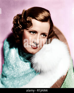 Irene Dunne (born Irene Marie Dunn, December 20, 1898 ñ September 4, 1990) was an American film actress and singer of the 1930s, 1940s and early 1950s. Dunne was nominated five times for the Academy Award for Best Actress, for her performances in Cimarron (1931), Theodora Goes Wild (1936), The Awful Truth (1937), Love Affair (1939) and I Remember Mama (1948). In 1985, Dunne was given Kennedy Center Honors for her services to the arts. Credit: Hollywood Photo Archive / MediaPunch - Stock Photo