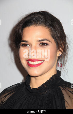 Beverly Hills, California, USA. 11th Nov 2018. America Ferrara  11/11/2018 The ACLU SoCal's Annual Bill of Rights Dinner held at The Beverly Wilshire Hotel in Beverly Hills, CA  Photo: Cronos/Hollywood News Credit: Cronos/Alamy Live News - Stock Photo