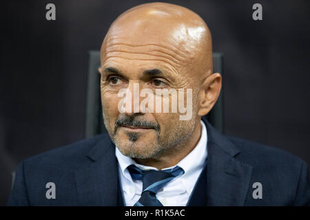 Milan, Italy. 6th Nov, 2018. Luciano Spalletti (Inter) Football/Soccer : UEFA CHAMPIONS LEAGUE 2018 match between FC Internazionale Milano 1-1 FC Barcelona at Stadio San Siro in Milan, Italy . Credit: AFLO/Alamy Live News - Stock Photo