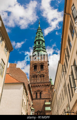 Detail of the former St. Nicholas Church in Copenhzagen, Denmark - Stock Photo