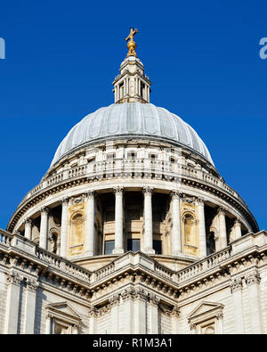 St Pauls Cathedral Dome, London, England, United Kingdom