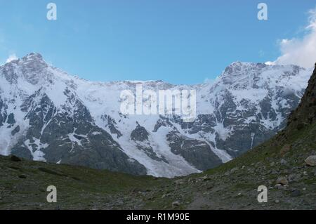 Nanga Parbat -- Rupal Valley Face Pakistan - Stock Photo