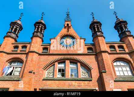 Hala Targowa, Covered Market in Gdansk, Poland - Stock Photo
