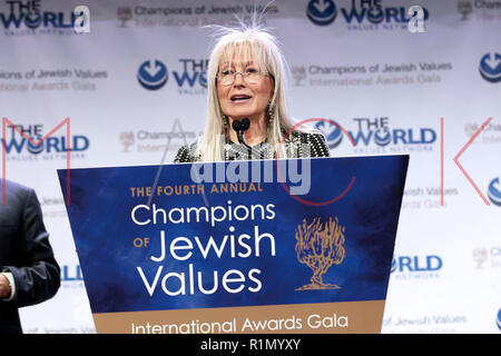 NEW YORK, NY - MAY 05:  Miriam Adelson in attendance at the 4th Annual Champions Of Jewish Values International Awards Gala at Marriott Marquis Times Square on May 5, 2016 in New York City.  (Photo by Steve Mack/S.D. Mack Pictures) - Stock Photo