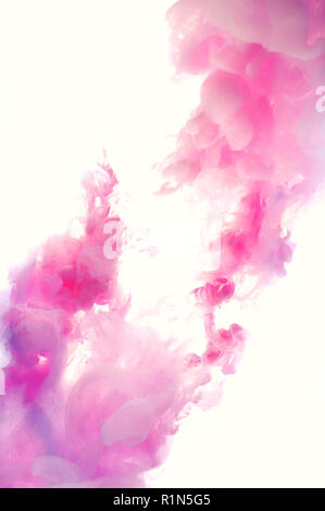 Beautiful colorful abstract pink and white background - Stock Photo