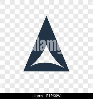 Hamantaschen vector icon isolated on transparent background, Hamantaschen transparency logo concept - Stock Photo