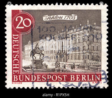 Postage stamps from Berlin in the Old Berlin series issued in 1962