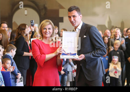 Zagreb, Croatia  13th Nov, 2018  Croatian president Kolinda