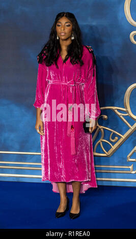 London, UK. 13th November, 2018.   attends the UK Premiere of 'Fantastic Beasts: The Crimes Of Grindelwald' at Cineworld Leicester Square on November 13, 2018 in London, England. Credit: Gary Mitchell, GMP Media/Alamy Live News - Stock Photo