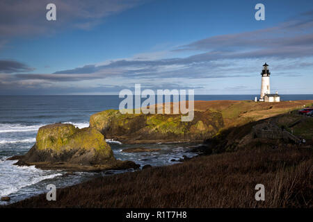 OR02386-00...OREGON - Yaquina Head Lighthouse in the Yaquina Head Outstanding Natural Area.