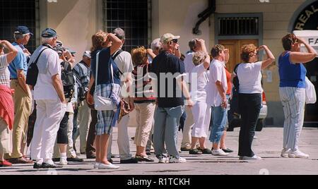 Tuscany, Italy in 2004 - Stock Photo