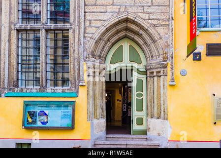 Tallinn city museum. Tallinn, Harju County, Estonia, Baltic states, Europe. - Stock Photo