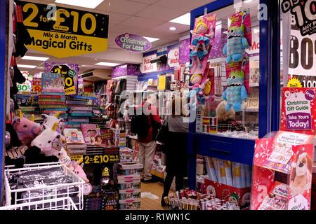 the works retail shop in canterbury kent uk november 2018 - Stock Photo
