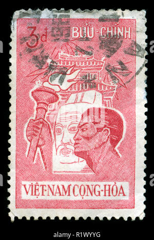 Postage stamp from South Vietnam issued in 1961 - Stock Photo