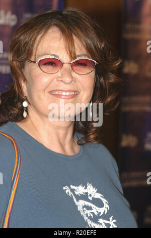 Roseanne Barr   06/22/04 2004 LOS ANGELES FILM FESTIVAL 'FAHRENHEIT 9/11' @ Directors Guild of America, Los Angeles Photo by Kazumi Nakamoto/HNW / PictureLux  (June 22, 2004) - Stock Photo
