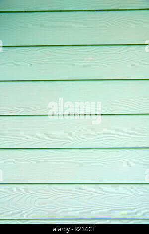 Turquoise wooden planks texture background. Paint your old fence save wood. Light blue wood plank surface texture, wooden board background copy space. - Stock Photo