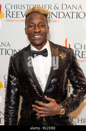 New York, USA. 15th November, 2018. Benjamin Hey! attends The Christopher & Dana Reeve Foundation Magical Evening Gala at Sheraton Times Square Credit: lev radin/Alamy Live News - Stock Photo