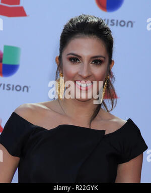 Las Vegas, Nevada, USA. 15th November, 2018. < - > attends the 19th annual Latin GRAMMY Awards at MGM Grand Garden Arena on November 15, 2018 in Las Vegas, Nevada. Photo: imageSPACE Credit: MediaPunch Inc/Alamy Live News - Stock Photo