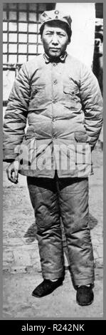 Mao Zedong (Mao Tse-tung December 26, 1893 - September 9, 1976), Chinese Communist revolutionary and the founding father of the People's Republic of China, - Stock Photo