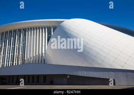 The Philharmonie (Philharmonic Hall), Place de L'Europe, Kirchberg, Luxembourg City, Luxembourg, Europe - Stock Photo