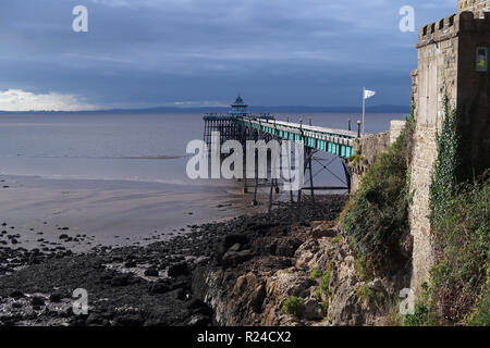 Clevedon Pier, Somerset, England, United Kingdom, Europe