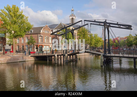 The Characteristic Town Of Schiedam, Netherlands - Stock Photo