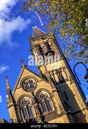 St. Wilfrid's Church in York city centre. - Stock Photo