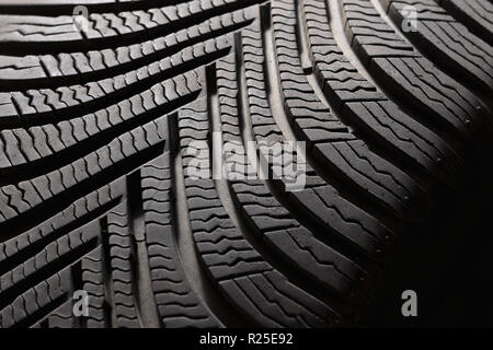 Tyres tread pattern closeup background edit now copyspace Stock Photo