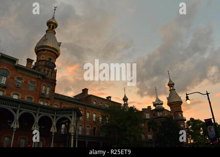 Tampa, Florida. October 06, 2018 . Henry B. Plant Museum is a Neo Arabian style building in Tampa Downtown. - Stock Photo