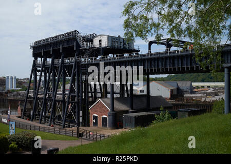 The Anderton Boat Lift, Anderton, Northwich, Cheshire, UK. - Stock Photo