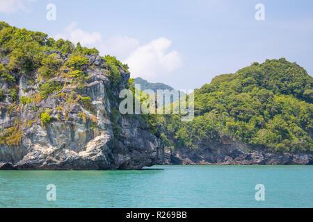 tropical island in the sea