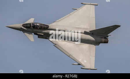 Royal Air Force Typhoon Eurofighter - Stock Photo