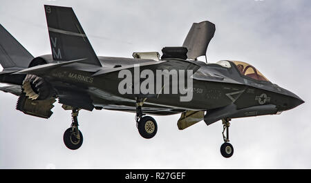F35 lightning fighter - Stock Photo